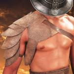 Spartacus Leather Pauldron